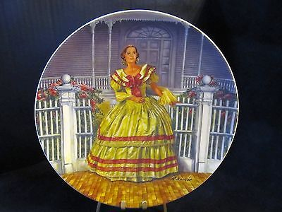 "Raymond Kursar's Gone With The Wind ""  Melanie "" Collector Plate"