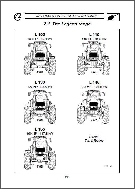 Landini legend 105 115 130 145 165 tractor and 50 similar items landini legend 105 115 130 145 165 tractor repair service workshop manual cd fandeluxe Choice Image