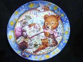 """Maren Scott's Lullabears, """" Story Tellin """" Musical Collector Plate - $21.49"""