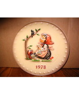 "Vintage M.J. Hummel ""1978 Annual"" Collector Plate - $24.30"