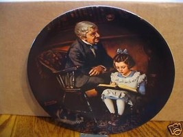 "Norman Rockwell'sHeritage Collection Series"" The Young Scholar"" Collecto... - $18.68"