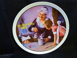 "Norman Rockwell's "" 1982 Mother's Day- The Cooking Lesson"" Collector Plate - $18.68"