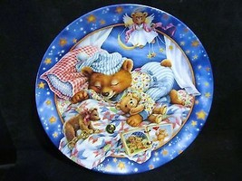 """Maren Scott's Lullabears, """" Sweet Dreamia """" Musical Collector Plate - $21.49"""