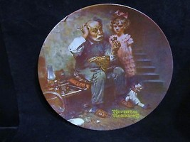 "Norman Rockwell's Heritage Collection Series"" The Cobbler"" Collector Plate - $18.68"