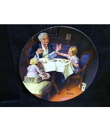"Norman Rockwell's Heritage Collection Series "" The Gourmet"" Collector Pl... - $18.68"