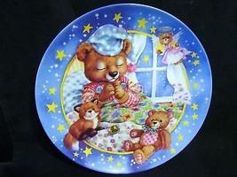 """Maren Scott's Lullabears, """"Wishin on a Star """" Musical Collector Plate - $21.49"""