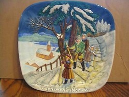 Royal Doulton, John Beswicks Christmas in Norway Plate  - $20.99