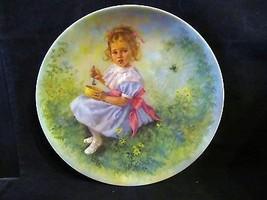 """John McClelland's """" Little Miss Muffet"""" Collector Plate - $18.68"""