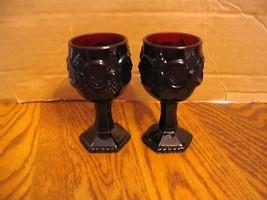 Avon The Cape Cod Collection 2 Wine Goblets - $22.43