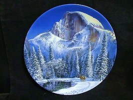 """Jean Sias's """"Blue Snow at Half Dome"""" Collector Plate - $18.68"""