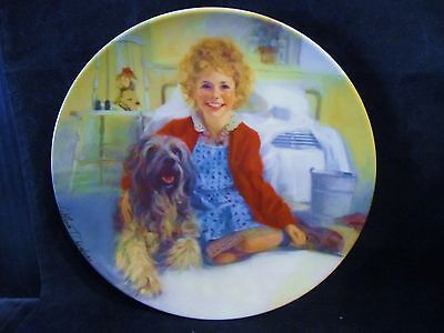 """William Chambers """" Annie and Sandy """" Collector Plate"""