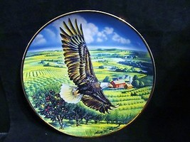 Ronald Van Ruyckevelt's Above The Fruited Plains Plate - $18.68