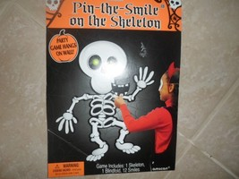 Pin the Smile on the Skeleton Party Game for up to 12 players.NEW by Amscan - $7.99