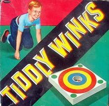 Vintage Bulls Eye Tiddly Winks Game Whitman - $4.99