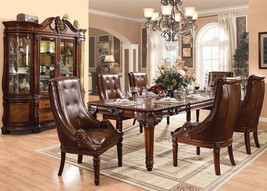 Acme 60075 Winfred Cherry Finish Dining Table Set