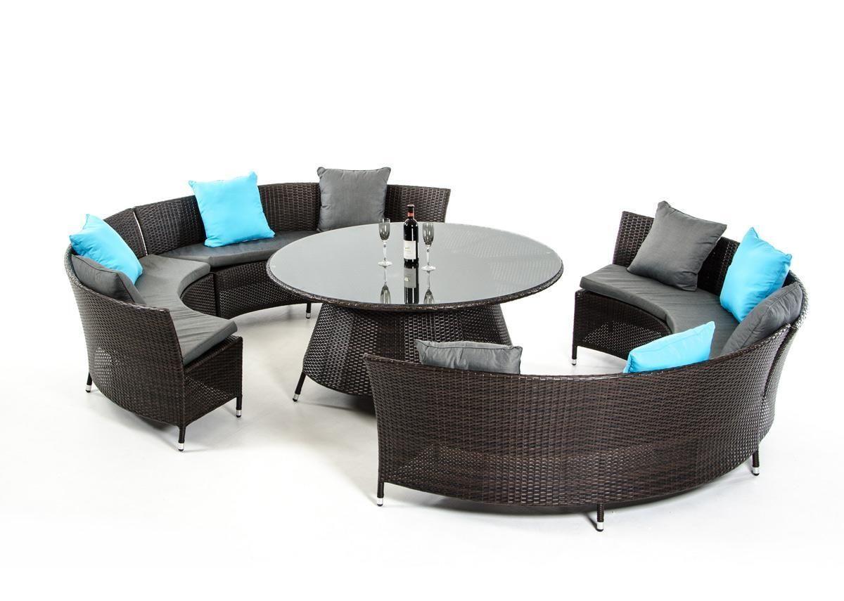 VIG Furniture Renava VGUBP00322 Luxemburg Outdoor Dining Set