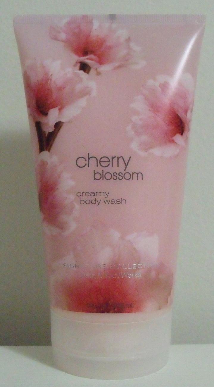 Bath and Body Works New Cherry Blossom Body Wash 8 oz Bath and Body