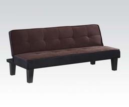 Acme 57028 Modern Chocolate Fabric Sleeper Sofa