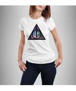 Deathly Harrows Version galaxy shirt Harry potter shirt Design - Women Shirt - $22.32 CAD