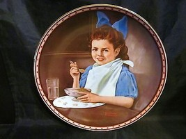 "Norman Rockwell's ""Good Intentions ""A 1987  Mind of Her Own Collector Plate - $18.68"