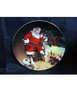 "Haddon Sundblom Santa's Series "" Santa By The Fire ""Collector Plate - $23.36"