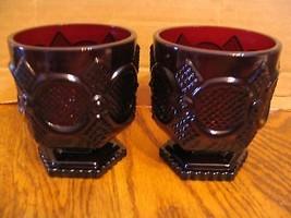 "Avon ""The Cape Cod Collection"" Short Stem Tumblers - $23.36"