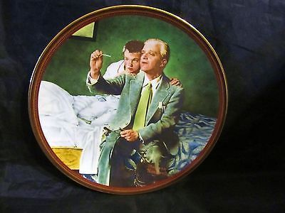 """Norman Rockwell's """" The Country Doctor """"A 1990 The Ones We Love Collector Plate"""