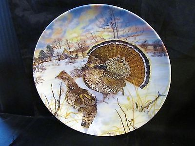"Wayne Anderson's Upland Birds of North America ""The Ruffed Grouse "" Coll. Plate"