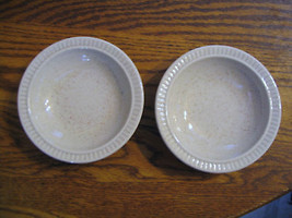 """Red Wing """"Tan Fleck Stoneware"""" Dessert Dishes - $21.49"""