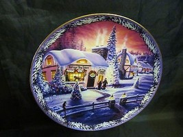 """Renee McGinnis's Christmas in The Village, """"The Village Toy Store """" Plate - $28.04"""