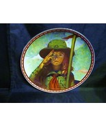 "Norman Rockwell's "" On My Honor ""A 1988  Mind of Her Own Collector Plate - $18.68"