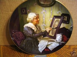 "Norman Rockwell's Golden Moments Series ""Grandma's Love"" Collector Plate - $15.99"