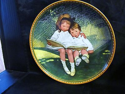 """Jessie Wilcox Smith's Not So Long Ago Collection,"""" Story Time """"Collector Plate"""