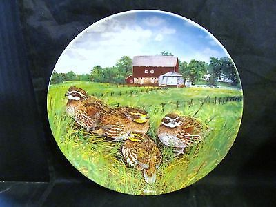 "Wayne Anderson's Upland Birds of North America "" The Bob-White Quail "" Plate"