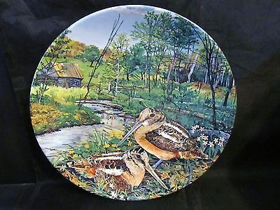 "Wayne Anderson's Upland Birds of North America "" The Woodcock"" Plate"