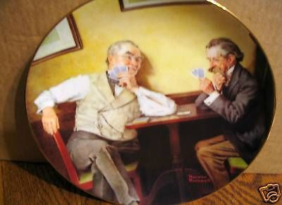 "Norman Rockwell's Golden Moments Series "" Best Friends"" Collector Plate"