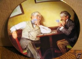 "Norman Rockwell's Golden Moments Series "" Best Friends"" Collector Plate - $15.99"