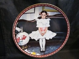 "Norman Rockwell's "" Sitting Pretty "" A 1986  A Mind of Her Own Collector... - $18.68"