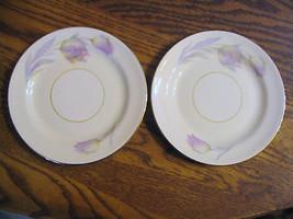 Homer Laughlin Eggshell Nautilus Tulip. B & B  Plates - $28.04