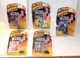 ✰ Lot Of 7 1994 Action Master Star Wars C-3PO R2D2 Luke Darth 3 Trooper Die Cast - $59.99