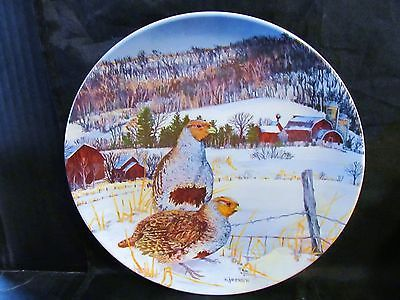 """Wayne Anderson's Upland Birds of North America """" The Gray Partridge"""" Plate"""