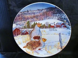 "Wayne Anderson's Upland Birds of North America "" The Gray Partridge"" Plate - $18.68"