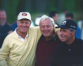 Jack Nicklaus Arnold Palmer Gary Player LSG 8X10 Color Golf Memorabilia ... - $6.99