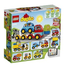 LEGO DUPLO My First Cars Trucks Lovely Toy Creativity Imagination Childr... - $27.12