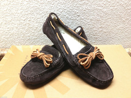 Ugg Meena Java Suede Shoe Mocc ASIN Us 7 / Eu 38 / Uk 5.5 - $79.48