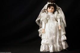 Forever Friends Porcelain Heirlooms Pamela Homier Collection Bride Doll ... - $44.99