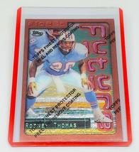 NFL RODNEY THOMAS HOUSTON OILERS 1996 TOPPS FINEST FUTURE INSERT #91 MNT - $1.70