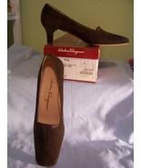 Ferragamo Women's Brown Suede Kid Pumps - 6 1/2... - $24.99