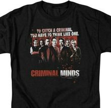 Criminal Minds cast t-shirt To catch a criminal TV series graphic tee CBS1226 image 4
