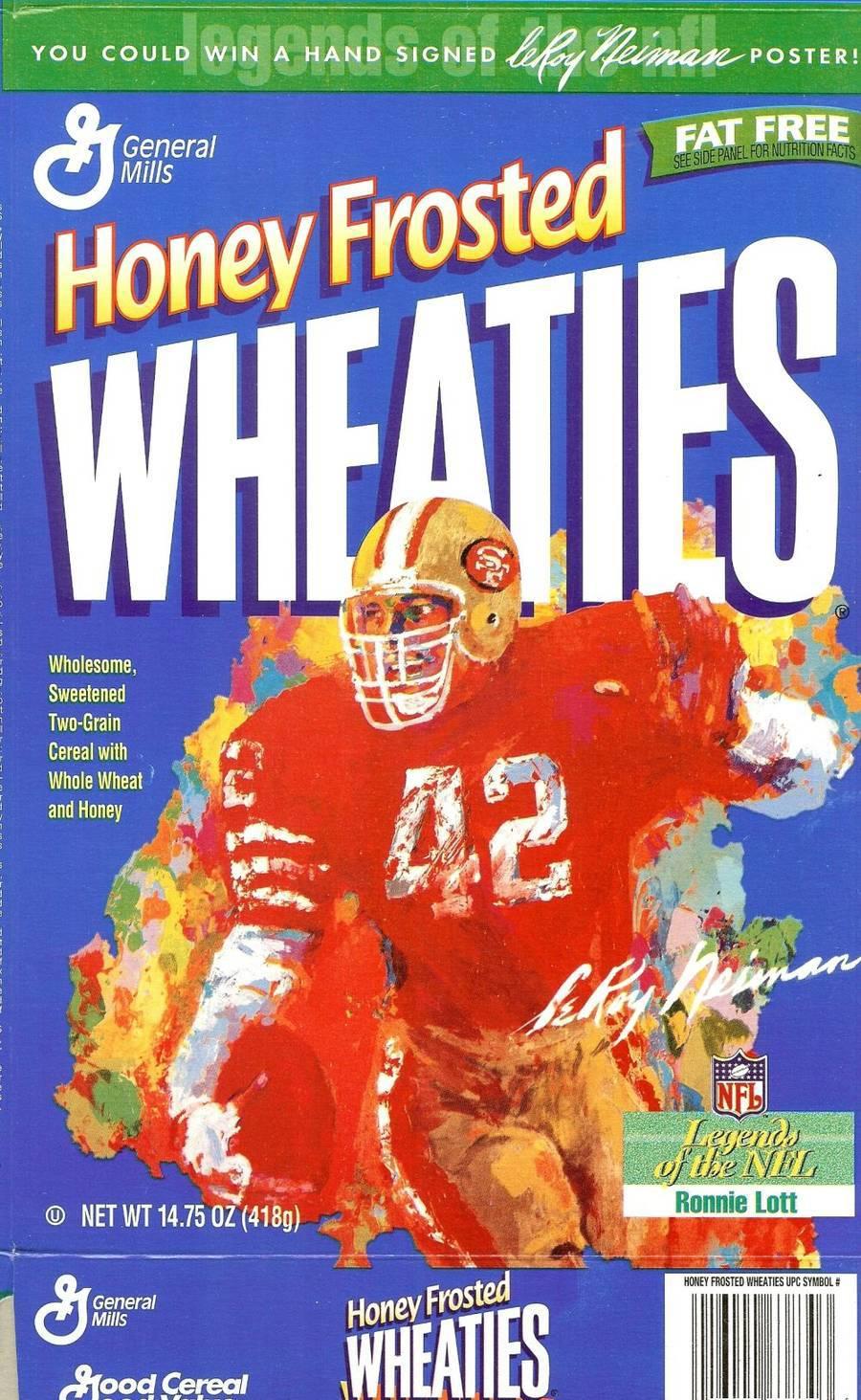 General Mills Wheaties Cereal Box: 1